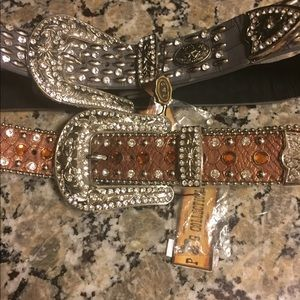 Accessories - Ladies Leather Studded Belts BNWT!!!